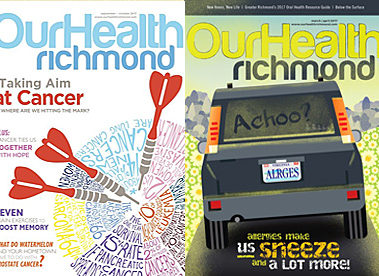 Orthopedic Physical Therapy in Our Health Magazine Richmond