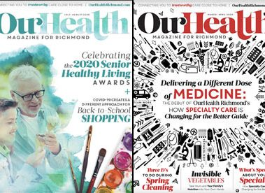 Our Health Magazine Collage 2020
