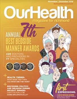 Our Health Richmond - Best Bedside Manner Awards - 2019